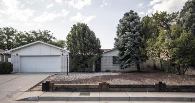 Albuquerque NM Single Family Home For Sale: $319,000