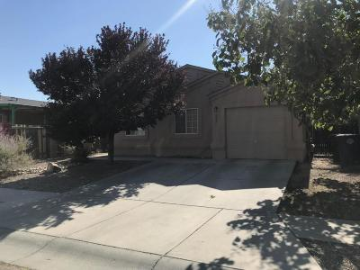 Albuquerque Single Family Home For Sale: 527 Whisper Pointe Street NW