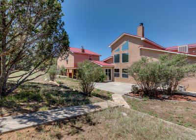 Tijeras, Cedar Crest, Sandia Park, Edgewood, Moriarty, Stanley Single Family Home For Sale: 415 Sedillo Road