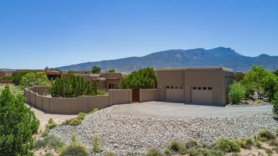 Placitas Single Family Home For Sale: 2 Black Mesa Trail