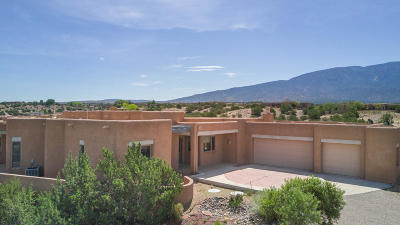Placitas Single Family Home For Sale: 10 Solar Court
