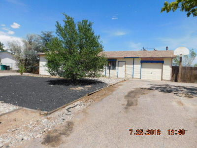 Rio Rancho Single Family Home For Sale: 891 Foraker Road SE