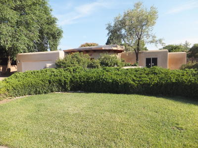 Albuquerque Single Family Home For Sale: 1312 Camino Amparo NW