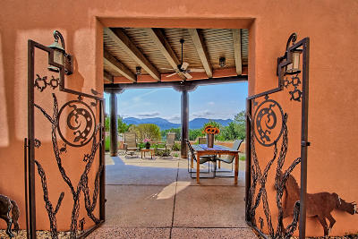 Tijeras, Cedar Crest, Sandia Park, Edgewood, Moriarty, Stanley Single Family Home For Sale: 5 Real Place