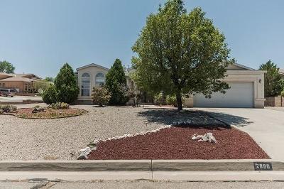 Sandoval County Single Family Home For Sale: 2890 Cripple Creek Drive SE