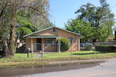 Albuquerque Single Family Home For Sale: 1617 Atrisco Drive SW