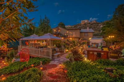 Single Family Home For Sale: 13450 Desert Hills Place NE