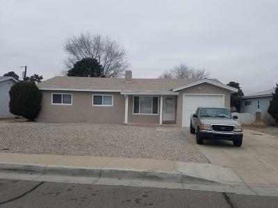 Albuquerque Single Family Home For Sale: 2919 Carolina Street NE