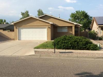 Rio Rancho Single Family Home For Sale: 601 Clayton Meadows Drive NE
