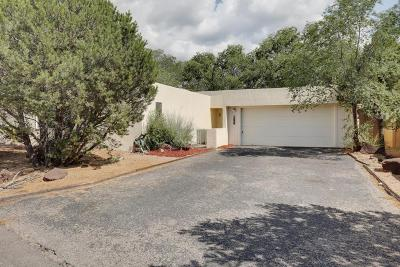 Sandia Heights Single Family Home For Sale: 1916 Quail Run Drive NE