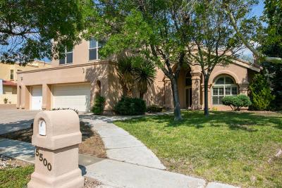 Single Family Home For Sale: 5500 Vista Lejana NE