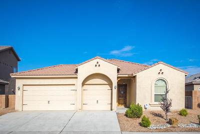 Bernalillo Single Family Home For Sale: 1017 Palo Alto Court