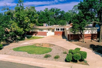 Bernalillo County Single Family Home For Sale: 1213 Quincy Street NE