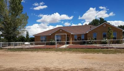 Valencia County Single Family Home For Sale: 16 Jerome Road