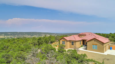 Tijeras Single Family Home For Sale: 30 Punch Court