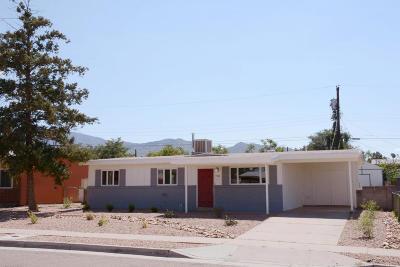 Albuquerque Single Family Home For Sale: 740 Grace Street NE