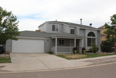 Rio Rancho Single Family Home For Sale: 1977 Raspberry Drive NE