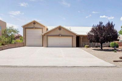 Rio Rancho Single Family Home For Sale: 3313 Oldenburg Road NE