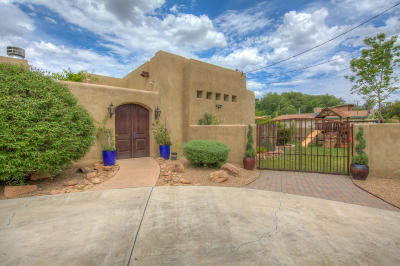 Albuquerque Single Family Home For Sale: 1153 Ortega Road NW