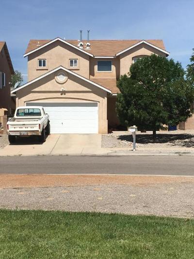 Valencia County Single Family Home For Sale: 1255 Avenida Esplendida Avenue NW