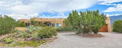 Placitas Single Family Home For Sale: 100 Camino Barranca
