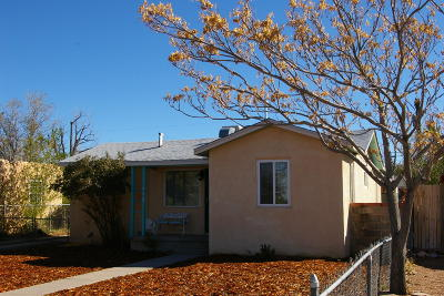 Albuquerque NM Single Family Home For Sale: $115,000