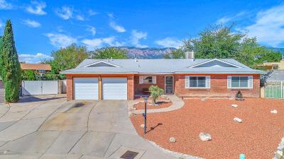 Single Family Home For Sale: 11523 Manitoba Drive NE