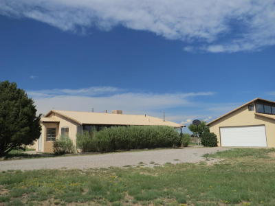 Tijeras, Cedar Crest, Sandia Park, Edgewood, Moriarty, Stanley Single Family Home For Sale: 1061 Salt Mission Trail
