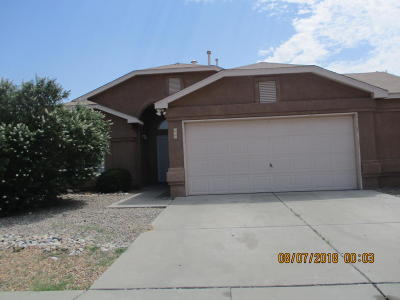 Albuquerque Single Family Home For Sale: 836 Tanager Drive SW
