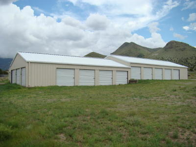 Commercial For Sale: Broaddus Storage Units