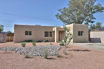 Albuquerque Single Family Home For Sale: 8830 Aztec Road NE