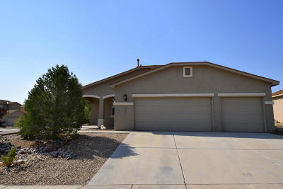 Valencia County Single Family Home For Sale: 3391 Sun Mesa Street SW