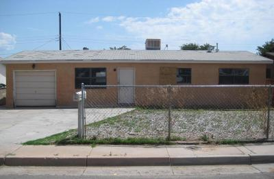 Albuquerque Single Family Home For Sale: 808 59th Street NW