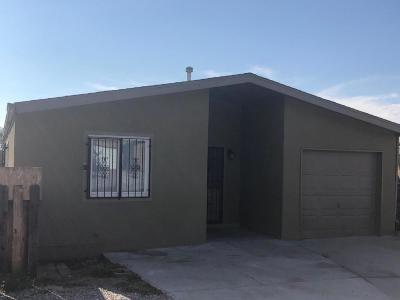 Albuquerque Single Family Home For Sale: 617 Turquoise Court NE