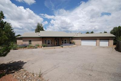 Tijeras, Cedar Crest, Sandia Park, Edgewood, Moriarty, Stanley Single Family Home For Sale: 6 Los Pecos Trail