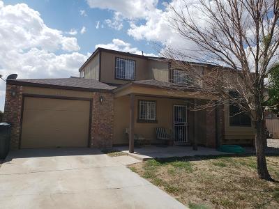 Rio Rancho Single Family Home For Sale: 1813 Blueberry Drive NE