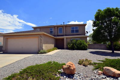 Rio Rancho Single Family Home For Sale: 6538 Freemont Hills Loop NE