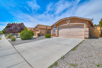 Rio Rancho Single Family Home For Sale: 7041 Skylar Drive NE