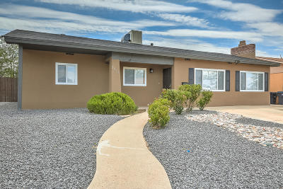 Albuquerque NM Single Family Home For Sale: $187,000