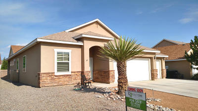 Rio Rancho Single Family Home For Sale: 1308 Yucatan Drive SE