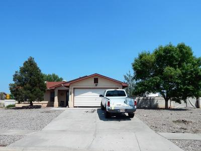Valencia County Single Family Home For Sale: 1600 La Paz Avenue
