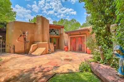 Los Ranchos Single Family Home For Sale: 7205 Rio Grande Boulevard NW