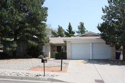 Albuquerque Single Family Home For Sale: 3408 Black Hills Road NE