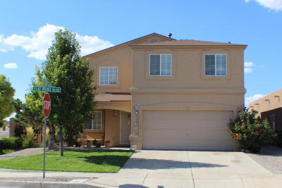 Rio Rancho Single Family Home For Sale: 3303 Flat Iron Road NE