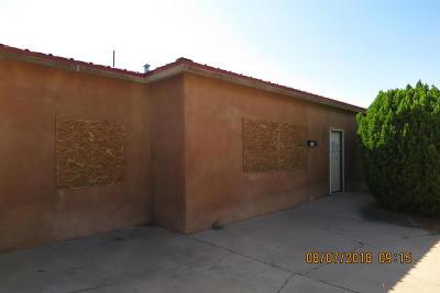 Albuquerque Single Family Home For Sale: 424 General Hodges Street NE