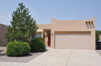Rio Rancho Single Family Home For Sale: 3533 Old Mill Road NE