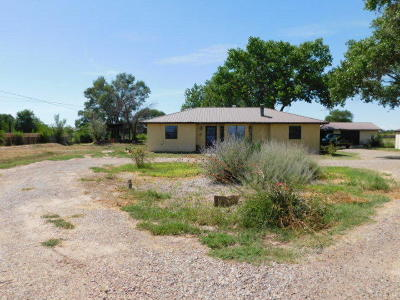 Valencia County Single Family Home For Sale: 1315 Gabaldon Road