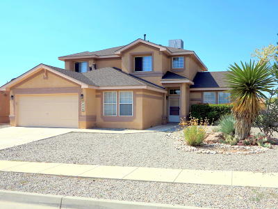 Rio Rancho Single Family Home For Sale: 7236 Assisi Hills Road NE