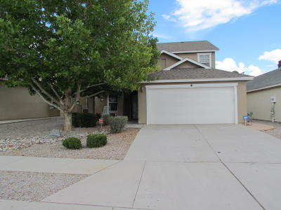 Albuquerque Single Family Home For Sale: 10444 Calle Rosa Road NW
