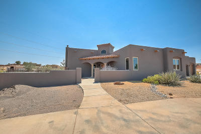 Rio Rancho Single Family Home For Sale: 4604 Huron Drive NE